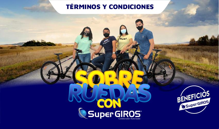 SOBRE RUEDAS CON SUPERGIROS